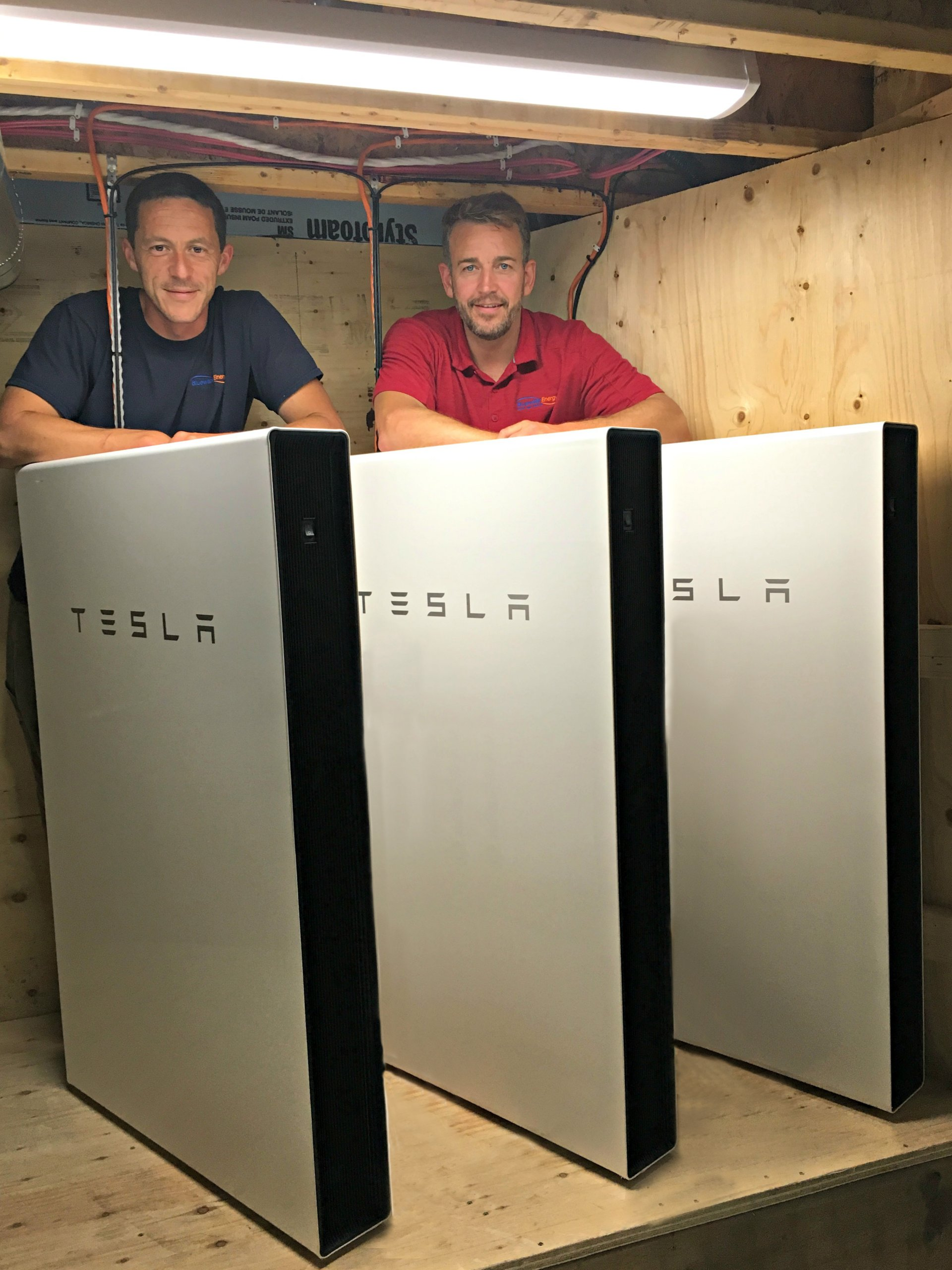 Bluewater Energy – Certified Tesla Powerwall Installation